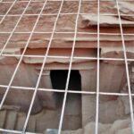 Planta inferior del Tesoro de Petra en Jordania