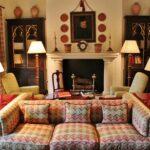 Salón del hotel Casa de Orellana en Trujillo en Extremadura