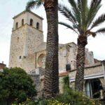 Iglesia Santa María la Mayor de Trujillo desde los jardines de la Casa de Orellana
