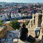 Miradores del castillo de San Jorge en Lisboa
