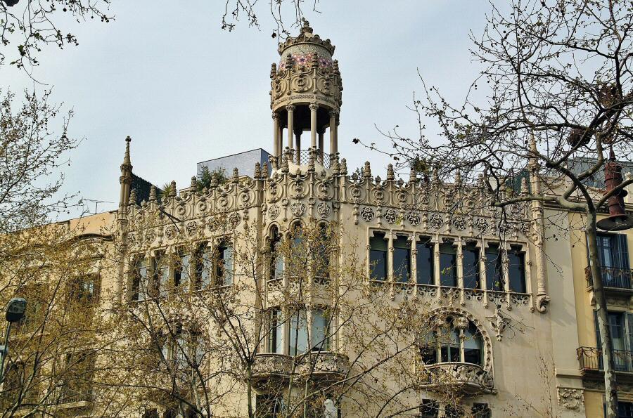 Visitas casa lle y morera en barcelona gu as viajar - Casa modernista barcelona ...