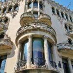 Casa modernista Lleó y Morera en Barcelona