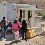 Taquilla de entrada al recinto de Petra en Jordania