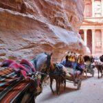Tesoro de Petra desde el esfiladero Siq