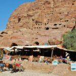 Venta de souvenirs en Petra en Jordania