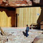 Aseos públicos en Petra en Jordania