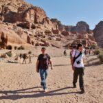 Paseo por Petra en Jordania
