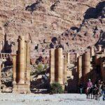 Arco de Trajano en Petra en Jordania
