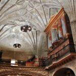 Organo de la iglesia de San Andrés de Elciego en Rioja Alavesa