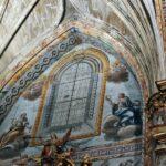 Pinturas policromadas en la iglesia de San Andrés de Elciego