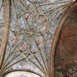 Techo abovedado en la iglesia de San Andrés de Elciego
