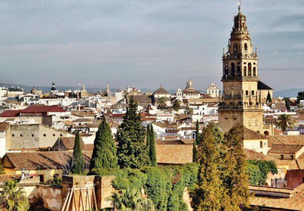 Vistas de Córdoba desde el Alcázar de los Reyes Cristianos