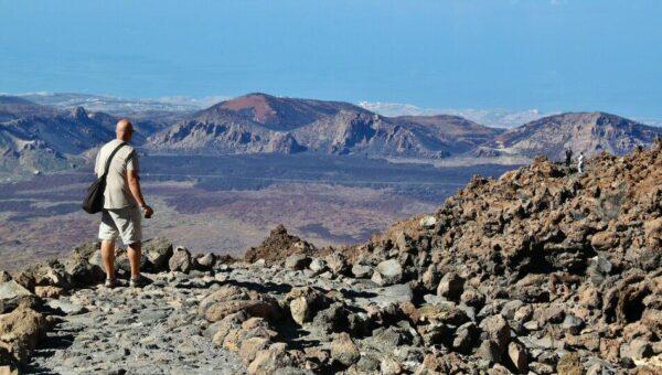 Vistas panorámicas desde el Teide en Tenerife