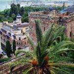Vistas desde la muralla de la Alcazaba de Málaga
