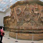 Muralla de Mushatta en el Museo de Pérgamo de Berlín