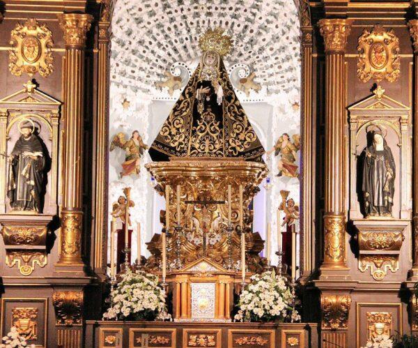Iglesia de los Dolores en la plaza de los Capuchinos en Córdoba