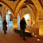 Lonja del antiguo ayuntamiento de Catí en el Alto Maestrazgo de Castellón