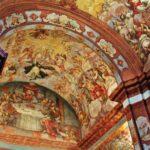 Pinturas de la Capilla de la Comunión de Catí en el Alto Maestrazgo