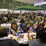 Comida popular en Mostra de la Trufa Negra de Ports-Maestrat en Castellón