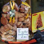 Galletas de Conques al sur de Francia