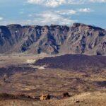 Vistas panorámicas de las Cañadas del Teide desde el mirador del teleférico