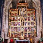 Retablo de la iglesia de Santa María la Real en Olite