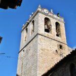 Torre campanario de la iglesia de la Asunción de Catí en Castellón
