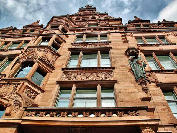 Casa del Elector en el antiguo barrio medieval de San Nicolás en Berlín