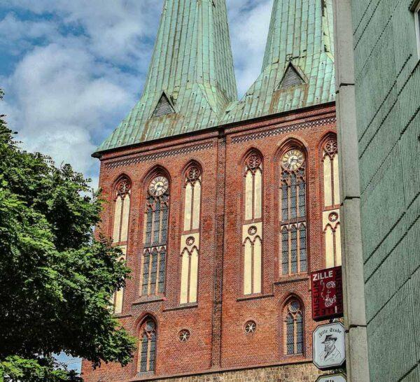 Iglesia de San Nicolás en el barrio de San Nicolás de Berlín