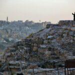 Mirador en la Ciudadela de Amán en Jordania