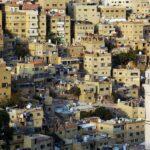Vistas del centro de Amán desde la Ciudadela