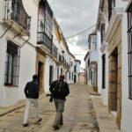 Pueblo blanco de Fregenal de la Sierra al sur de Badajoz