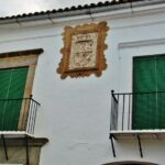 Casa solariega en Fregenal de la Sierra al sur de Badajoz