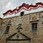 Antigua iglesia en Fregenal de la Sierra al sur de Badajoz