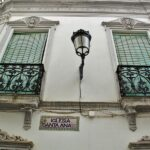 Rincón del centro histórico de Fregenal de la Sierra en Badajoz