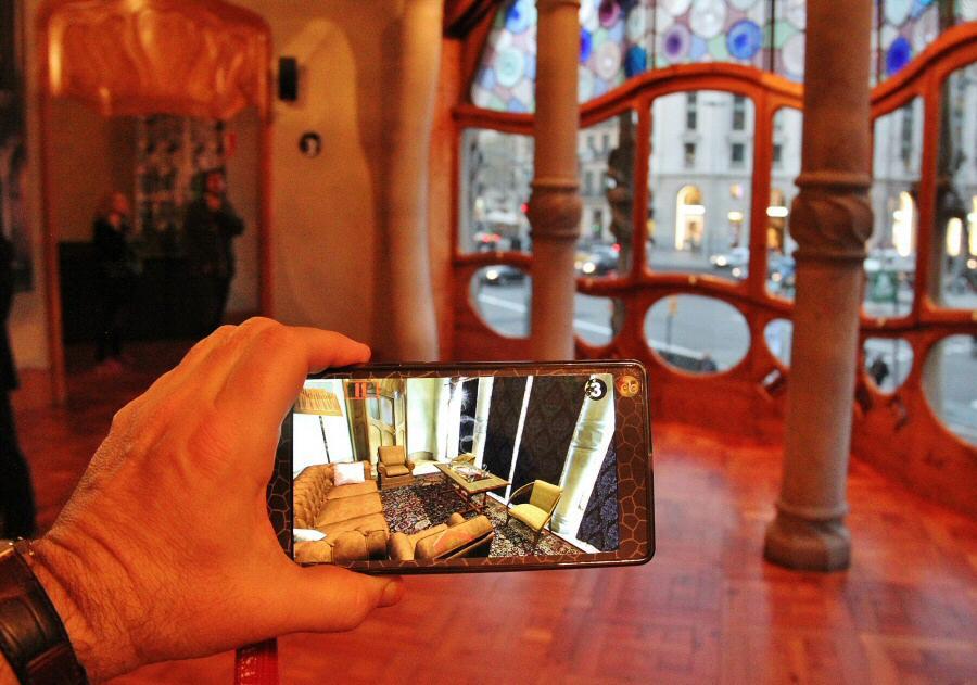 Videoguía con realidad aumentada para visitar la Casa Batlló en Barcelona