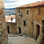 Pueblo medieval de Culla en Alto Maestrazgo de Castellón