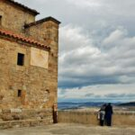 Mirador en el pueblo medieval de Culla en Alto Maestrazgo de Castellón