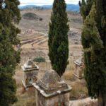 El Calvario en Culla en Alto Maestrazgo de Castellón