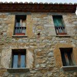 Rincón del pueblo medieval de Culla en Alto Maestrazgo de Castellón