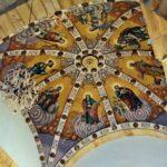 Bóveda de la iglesia de Culla en Alto Maestrazgo en Castellón