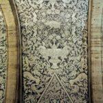 Techo esgrafiado en la iglesia de la Asunción de Catí en Castellón