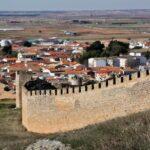 Muralla del castillo de Belmonte en Cuenca