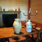 Sala del museo del castillo de Belmonte en Cuenca