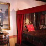 Dormitorio en museo del castillo de Belmonte en Cuenca