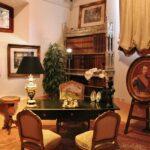 Despacho en museo del castillo de Belmonte en Cuenca