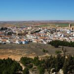 Vistas panorámicas de Belmonte desde el castillo
