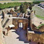 Entrada del castillo de Belmonte en Cuenca