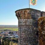 Torre del castillo de Belmonte en Cuenca