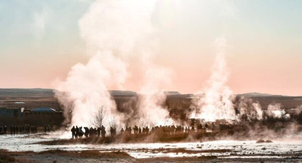 Geysir en Islandia